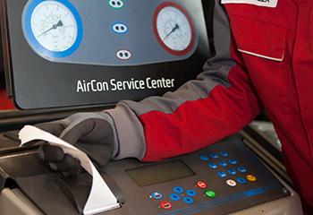 service klimaanlage analyse zettel