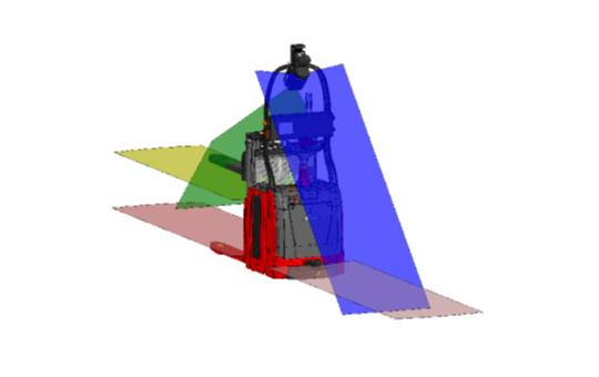 sicherheit rundum automatisierter stapler