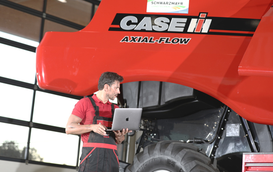 hauptuntersuchung sicherheitspruefung bei traktor