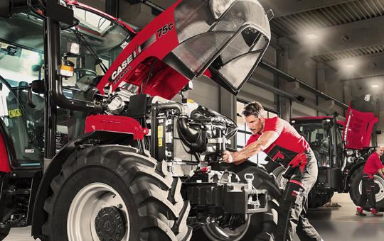 reparatur wartung von case traktor 1