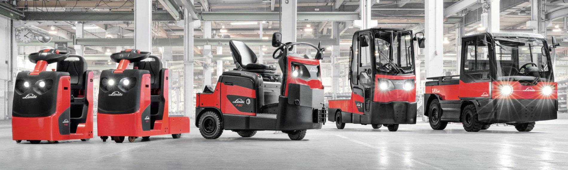 Schlepper & Plattformwagen Effizente Transportprozesse auch an schwierigen Stellen