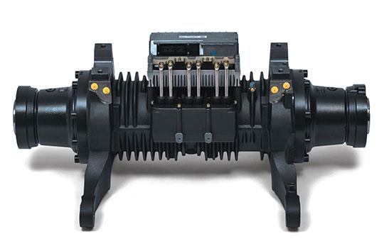 Linde Elektrostapler Kompaktachse mit zwei Motoren