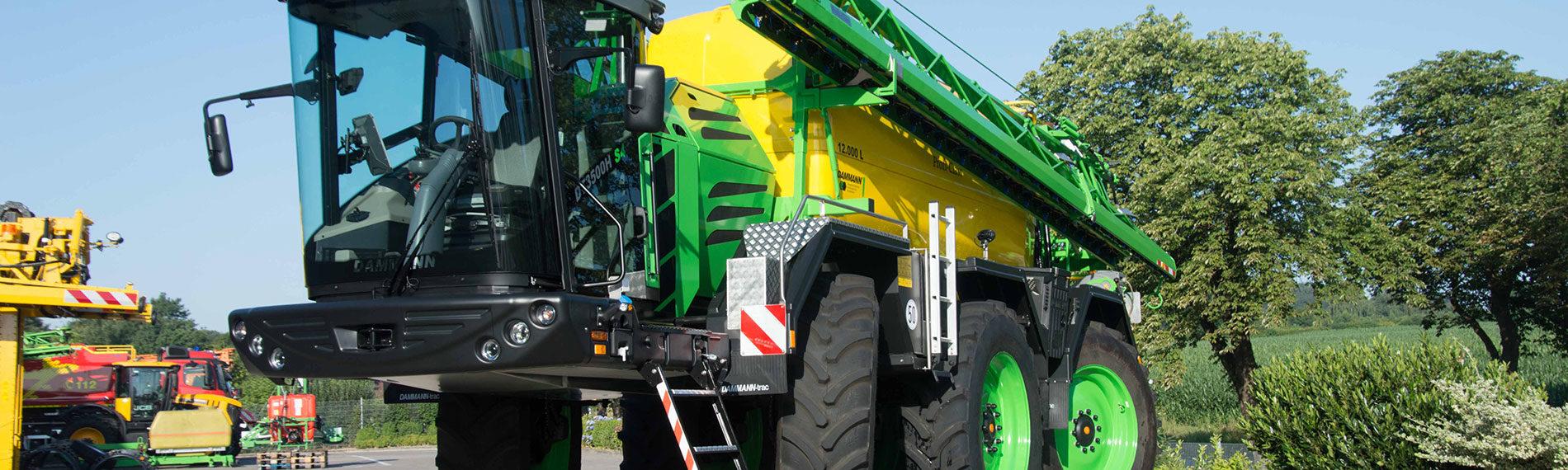 dammann pflanzenschutztechnik trac dt3500h selbstfahrer parallax