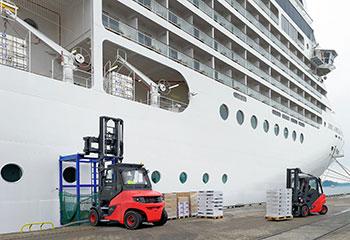 linde e stapler e80 schiff beitragsbild