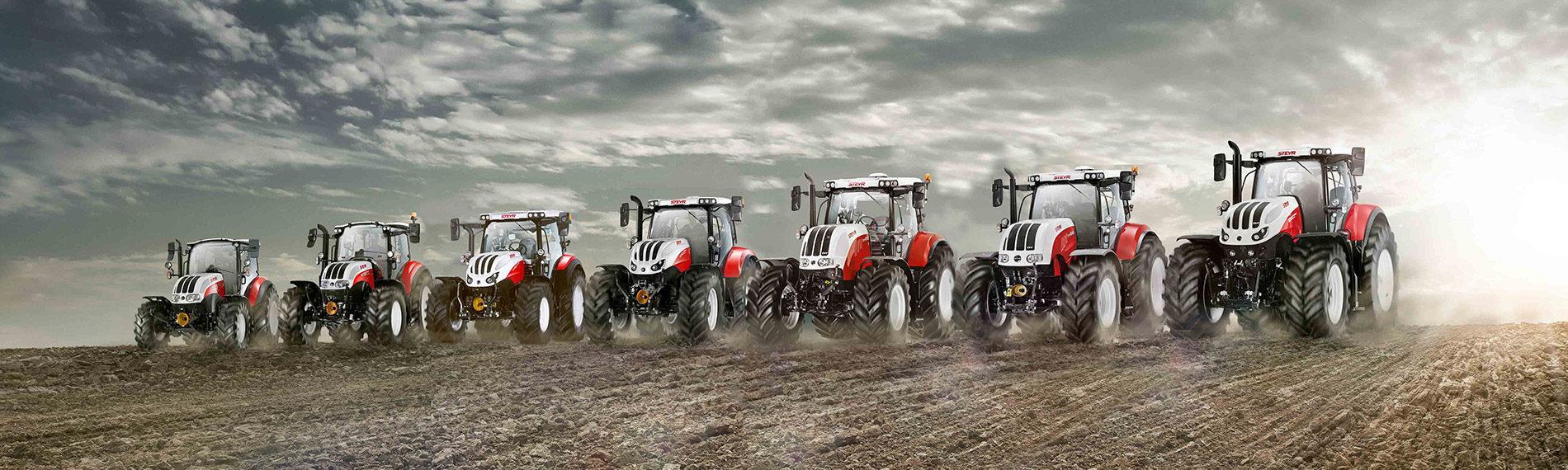 steyr traktoren produktreihe