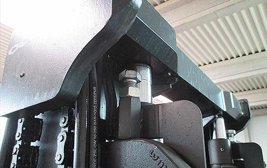 einstellen absenkbegrenzung gabelstapler
