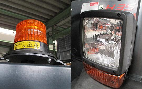 funktionskontrolle beleuchtungseinrichtung