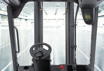 linde stapler cockpit
