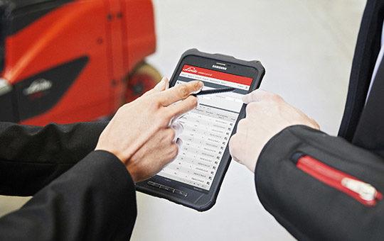 software tablet linde digtiale loesungen