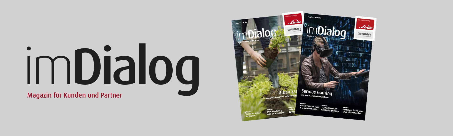 imdialog cover zeitschrift kunden partner