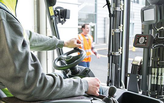 linde safety guard arbeitssicherheit flurfoerderzeuge