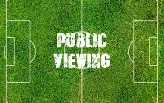 public viewing banner womh 2020 gruma