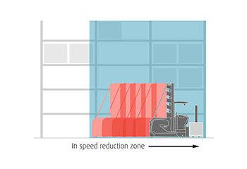 lsp geschwindigkeit begrenzung speed tempo limit zone grafik vorauswahl