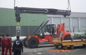 reachstacker auslieferung bild 3