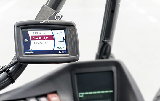 linde safety pilot display im stapler