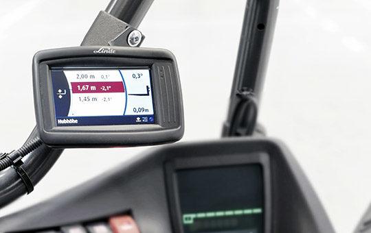 linde safety pilot display im stapler