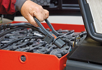 stapler batterie stecker ziehen