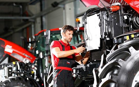 service landmaschinen werkstatt case ih traktor