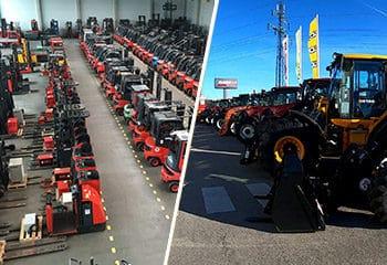 vorschaubild gebrauchtmaschinen linde stapler halle traktoren hof