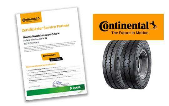 continental servicepartner zertifikat