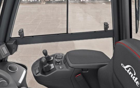 innenkabine linde dieselstapler h20 linde load control