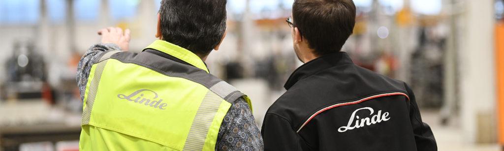 linde sicherheit scan check warnweste maenner erklaeren
