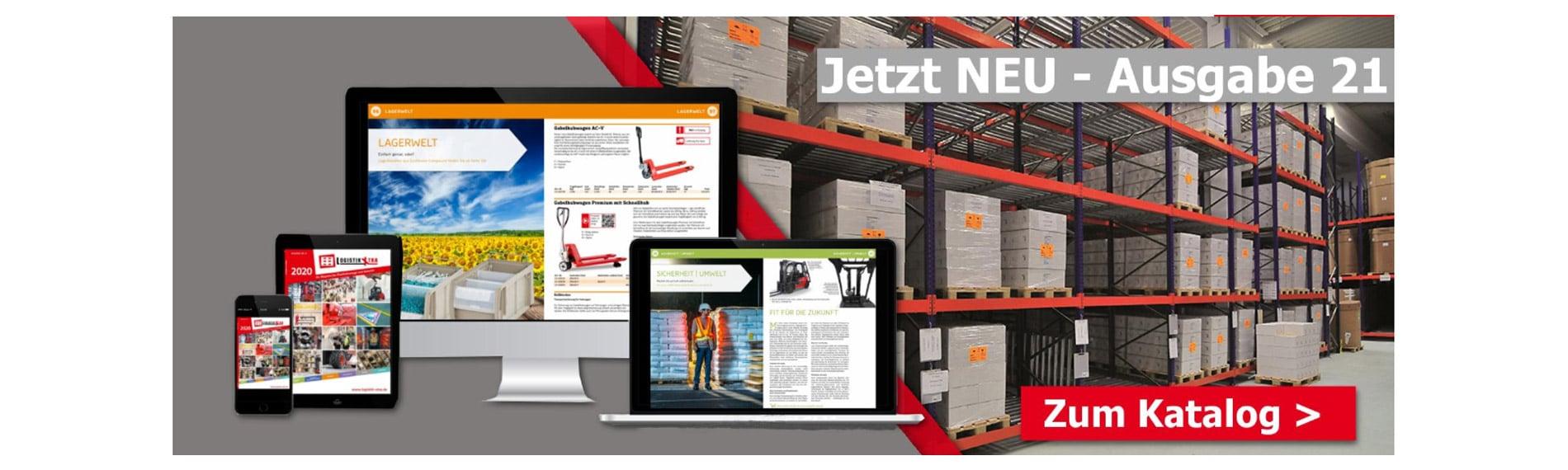 logistik x tra neue ausgabe 21 katalog