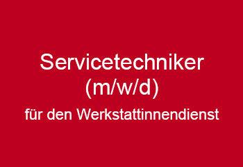 servicetechniker werkstattinnendienst