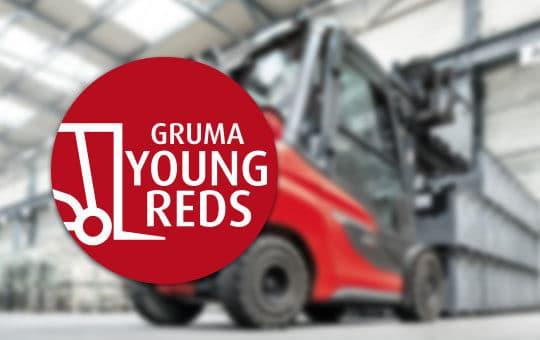 gruma young reds mit linde stapler