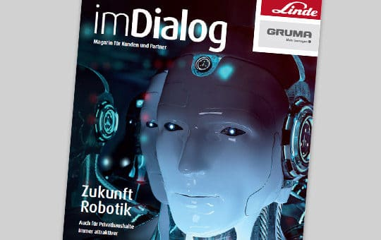 aktuelle ausgabe imdialog magazin linde