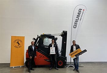 gruma continental service partner zertifikat auszeichnung guetesiegel verleihung
