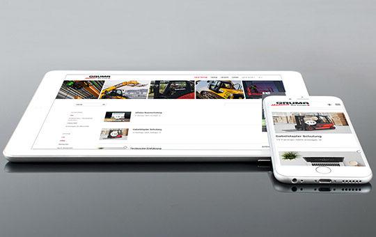 flexibel arbeiten auf smartphone laptop