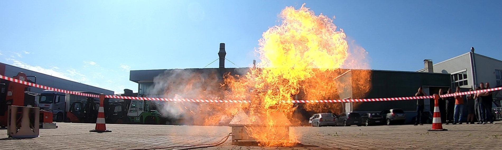 Explosion Brandschutzhelfer Gruma Akademie hero1