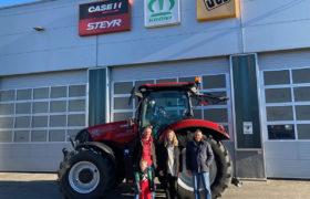 case traktor uebergabe