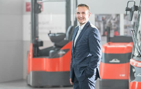 markus schmermund vice president automation und intralogistic solutions bei linde material handling