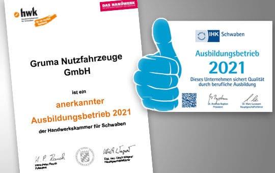zertifikate handwerkskammer ihk ausbildungsbetrieb 2021