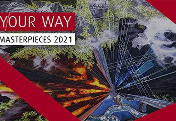 linde your way masterpieces 2021 gemaelde vier elemente lava wind wasser erde