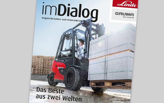 aktuelle ausgabe imdialog magazin linde 02 21
