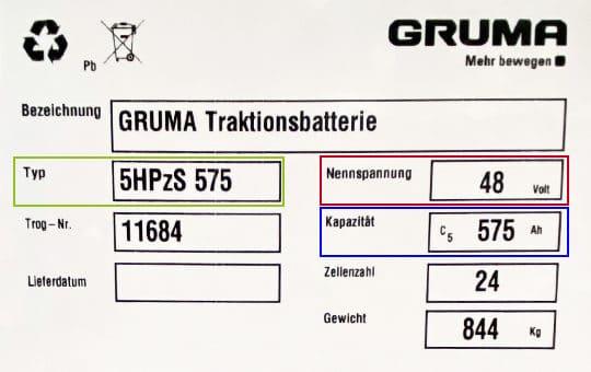 schaubild typenschild staplerbatterie 1
